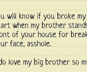 big brother and love image