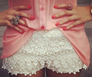 beautiful, ring, and white short image