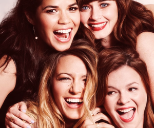 blake lively, alexis bledel, and amber tamblyn image