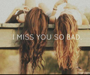 miss you, sisters, and love image