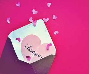 love, heart, and Letter image
