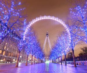 light, london, and christmas image