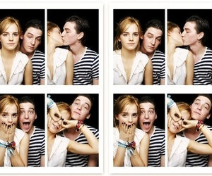 emma watson, couple, and george craig image
