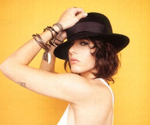 face, hat, and Kate Moennig image