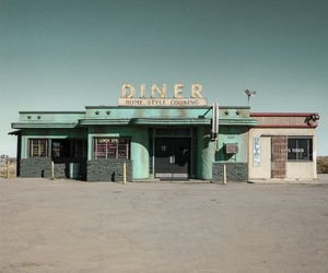 diner, aesthetic, and vintage image