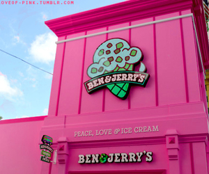ben & jerry's, food, and ice cream image