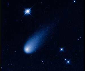 comet, hubble, and magical image
