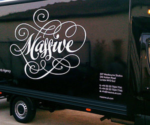 calligraphy, car, and graphic design image