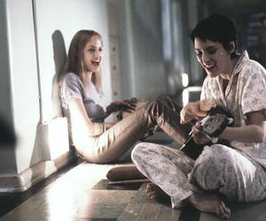 girl interrupted, Angelina Jolie, and winona ryder image