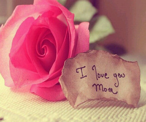 mom, pink, and quote image