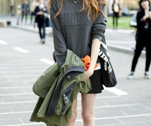 fashion, model, and lee sung kyung image