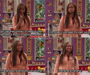 funny, thats so raven, and quote image