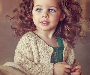 eyes, hair, and kids image