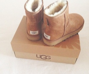 ugg, beautiful, and boots image