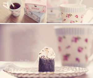 breakfast, romantic, and tea image