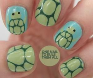 <3 and nail image