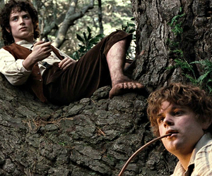 frodo, lord of the rings, and Sam image
