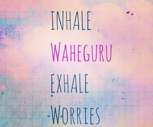 quote, sikh, and no worries image