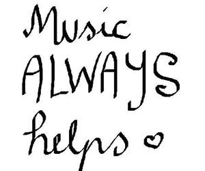 music, quote, and love image