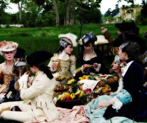 18th century, marie antoinette, and picnic image