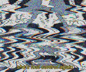 control, lost, and grunge image