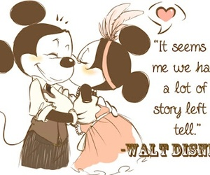 mickey mouse, saying, and story image