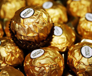 chocolate, food, and ferrero rocher image