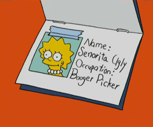 the simpsons, simpsons, and ugly image