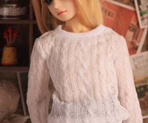 bjd and white image