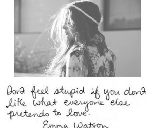 quote, emma watson, and true image