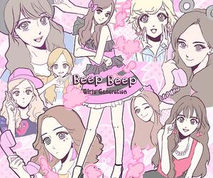 girls generation, snsd, and beep beep image