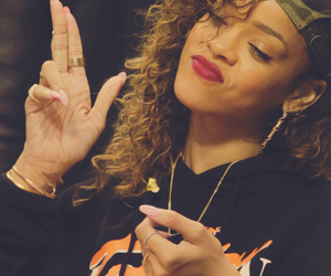 rihanna, swag, and riri image