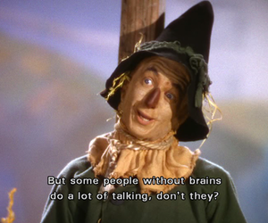 Wizard of oz, brain, and quote image