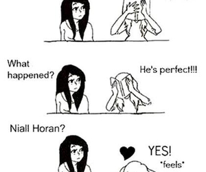 niall horan, one direction, and perfect image
