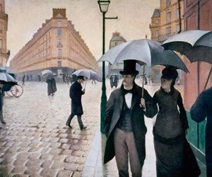 art, paris, and gustave caillebotte image