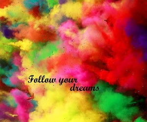 colours, dreams, and follow image