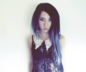 alt model, blue hair, and nicole lazuli image