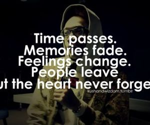 heart, memories, and quote image