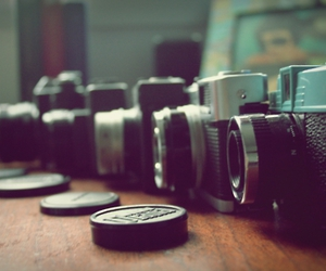 analogue, diana, and cameras image