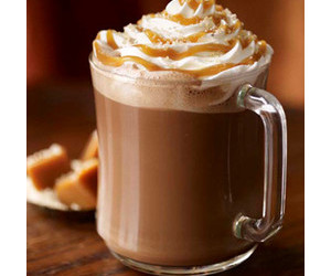 caramel, food, and drink image