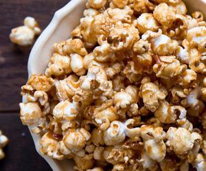 bourbon, caramel, and popcorn image