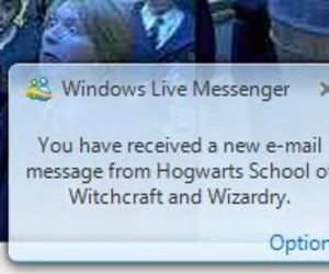 e-mail, harry potter, and hogwarts image