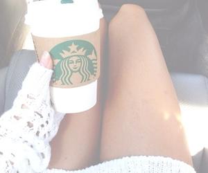 starbucks, coffee, and girl image