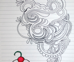 cupcake, doodle, and tricia flohr image