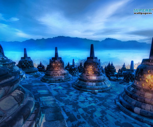 Borobudur, indonesia, and Temple image