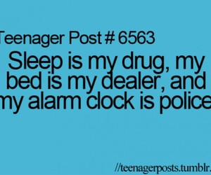 sleep, teenager post, and bed image