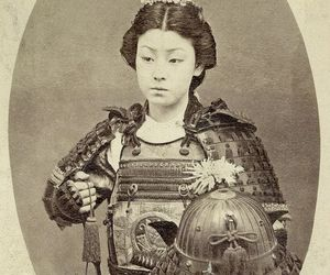 japan, female warrior, and photography image