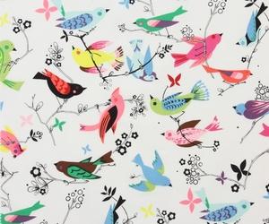 bird, wallpaper, and pattern image