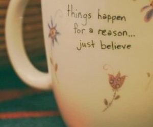 cup, believe, and quote image