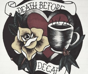 art and death before decaf image
